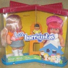 Muñecas Lesly y Barriguitas: DOS CHICAS BARRIGUITAS EN CAJA,FAMOSA,2007,A ESTRENAR. Lote 31758854