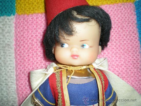 Muñecas Lesly y Barriguitas: Antiguo muñeco morito fabricado en alcoy chinarro en los años 70 muy buen estado - Foto 3 - 28932197