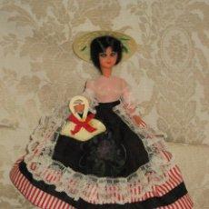 Muñecas Lesly y Barriguitas: MUÑECA REGIONAL AÑOS 60. Lote 34643443