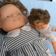 Muñecas Lesly y Barriguitas: MUÑECA MUÑECAS DE FAMOSA LOTE DE 2. Lote 34735534