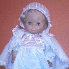 Muñecas Lesly y Barriguitas: PRECIOSA MUÑECA CON TRAJE DE BAUTIZO FAMOSA. Lote 36744022