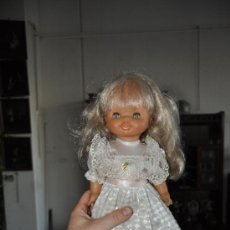 Muñecas Lesly y Barriguitas: MUÑECA DE LA CASA FAMOSA. HELEN COMUNION. CON MINISON INCORPORADO- AÑOS 70-80. Lote 37502025