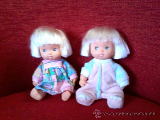 RARISIMOS MUÑECOS BARRIGUITAS MARCADOS FAIRLAND TOY 1986,NIÑO Y NIÑA SEXADOS (Juguetes - Muñeca Española Moderna - Barriguitas)