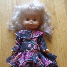 Muñecas Lesly y Barriguitas: MUÑECA FAMOSA, MADE IN SPAIN, . Lote 37997711