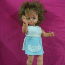Lesly and Barriguitas dolls - MUÑECA ANDADORA DE FAMOSA AÑOS 70. 50 CM. .. PARA PIEZAS Y/O/U RESTAURACION.. . - 38210853