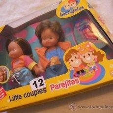Muñecas Lesly y Barriguitas: CAJA CON PAREJA BARRIGUITAS NUEVA SIN USAR. Lote 114312218