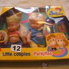 Muñecas Lesly y Barriguitas: CAJA CON PAREJA DE ANTIGUAS BARRIGUITAS NUEVAS SIN USAR. Lote 159429640