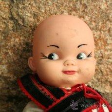 Muñecas Lesly y Barriguitas: ANTIGUA MUÑECA OJOS PINTADOS PARECE DE FAMOSA . Lote 38501555
