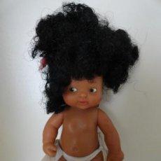 Muñecas Lesly y Barriguitas: BARRIGUITAS BARRIGUITA NEGRA NEGRITA DE FAMOSA PELO AFRO. Lote 38663660