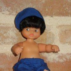 Muñecas Lesly y Barriguitas: ANTIGUA BARRIGUITAS DE FAMOSA PELO NEGRO. Lote 38665594
