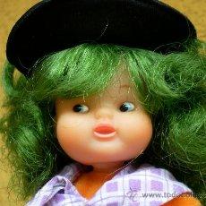 Muñecas Lesly y Barriguitas: MUÑECA BARRIGUITAS BRUJA PELO VERDE. Lote 38740487