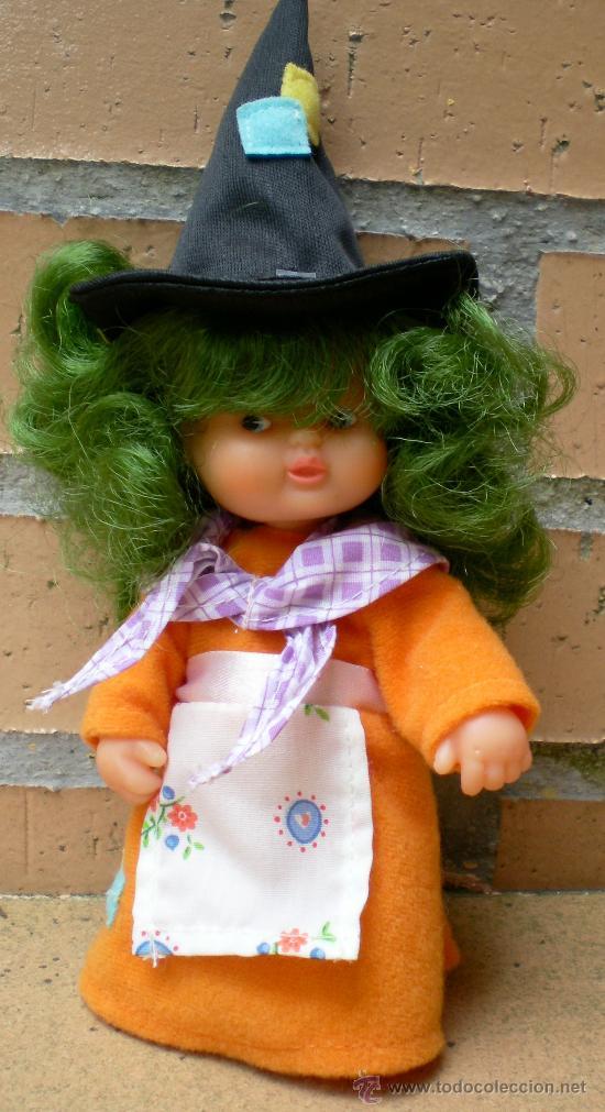 Muñecas Lesly y Barriguitas: Muñeca Barriguitas Bruja pelo verde - Foto 2 - 38740487