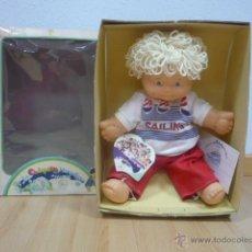 Muñecas Lesly y Barriguitas: LOS CHIQUITOS MARAVILLOSOS DE FAMOSA 1986. Lote 40391394