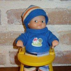 Muñecas Lesly y Barriguitas: BARRIGUITAS DE FAMOSA TACA TA. ANDADOR. TACATA. AMARILLO.TODA ORIGINAL. Lote 41326333