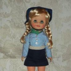 Muñecas Lesly y Barriguitas: RARISIMA MUÑECA VESTIDA DE BOY SCOUT. Lote 42521137