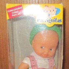 Muñecas Lesly y Barriguitas: BARRIGUITAS HOLANDÉS,BARRIGUITAS DEL MUNDO,CAJA ORIGINAL. Lote 42693268