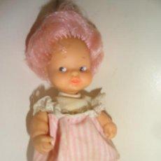 Muñecas Lesly y Barriguitas: BARRIGUITAS PELO ROSA. Lote 43190221