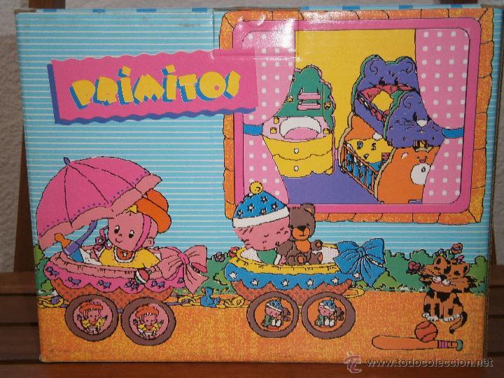 Muñecas Lesly y Barriguitas: Primitos de Famosa. Muñeco pelirrojo con carro en forma de hipopótamo. Nuevo.Caja original - Foto 5 - 44744104