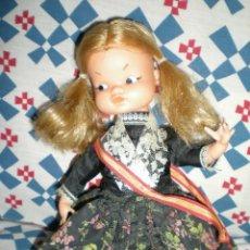 Muñecas Lesly y Barriguitas: BONITA MUÑECA CARAMELERA AÑOS 50 POSIBLEMENTE FAMOSA RAPADIÑA VESTIDA DE REGIONAL. Lote 45031730