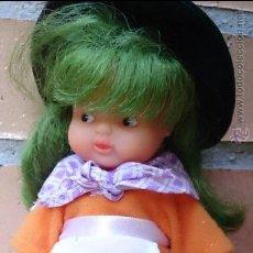 Muñecas Lesly y Barriguitas: MUÑECA BARRIGUITAS BRUJA PELO VERDE. Lote 45111167