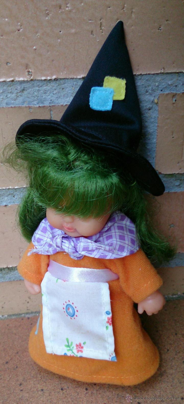 Muñecas Lesly y Barriguitas: Muñeca Barriguitas Bruja pelo verde - Foto 2 - 45111167