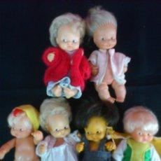 Puppen Lesly und Barriguitas - BARRIGUITAS..LOTE DE 6 MUÑECAS BARRIGUITAS DE FAMOSA - 45464696