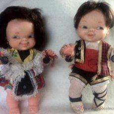 Lesly and Barriguitas dolls - Pareja de muñecos marcados FAMOSA - 46157500