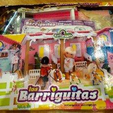 Muñecas Lesly y Barriguitas: BARRIGUITAS CLUB PONYS AÑO 2011 COMPLETO EN CAJA. Lote 52762817