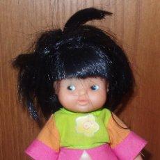 Muñecas Lesly y Barriguitas: BARRIGUITAS DE PELO NEGRO DE LA SERIE NENAS. Lote 47617593