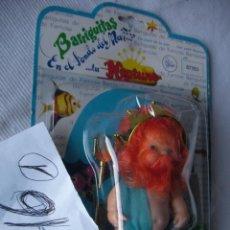 Muñecas Lesly y Barriguitas: REY NEPTUNO DE BARRIGUITAS - NUEVO EN SU BLISTER. Lote 47755321