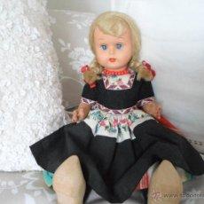 Muñecas Lesly y Barriguitas: PRECIOSA MUÑECA DE CELULOIDE AÑOS 50. Lote 47940378
