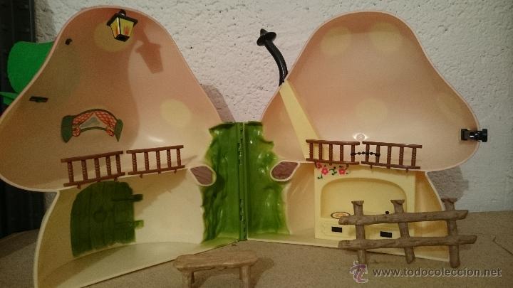 Muñecas Lesly y Barriguitas: Casita del bosque de barriguitas, Seta en su caja original - Foto 3 - 48380983