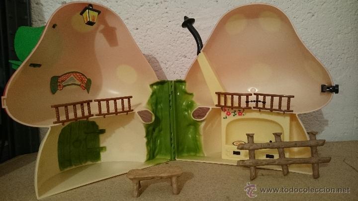Muñecas Lesly y Barriguitas: Casita del bosque de barriguitas, Seta en su caja original - Foto 4 - 48380983