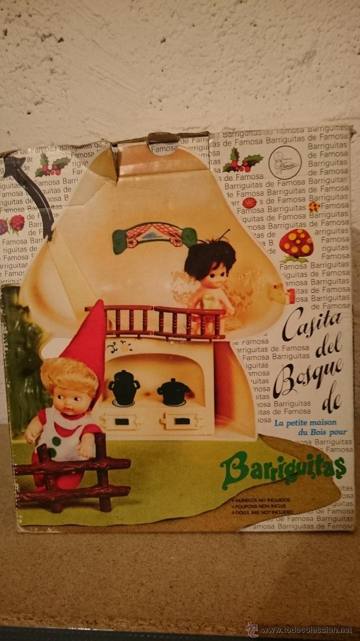 Muñecas Lesly y Barriguitas: Casita del bosque de barriguitas, Seta en su caja original - Foto 6 - 48380983