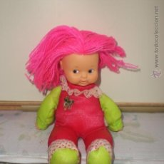 Muñecas Lesly y Barriguitas: MUÑECA BARRIGUITAS CON PELO DE LANA. Lote 48518702