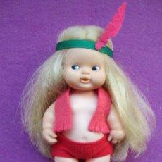 Muñecas Lesly y Barriguitas: MUÑECA BARRIGUITAS, PELO LARGO, INDIA, FAMOSA,. Lote 48649008