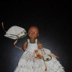 Muñecas Lesly y Barriguitas: BARRIGUITA NEGRA CON SU ROPA.. Lote 49275357