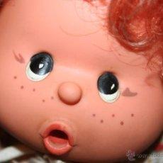Muñecas Lesly y Barriguitas: ANTIGUA MUÑECA OJOS PINTADOS . Lote 49924046