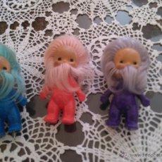 Muñecas Lesly y Barriguitas: 3 ENANITOS BARRIGUITAS. Lote 51079491