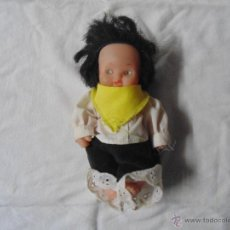 Muñecas Lesly y Barriguitas: BARRIGUITA DE FAMOSA ORIGINAL EPOCA AÑOS OCHENTA VESTIDA. Lote 54006168