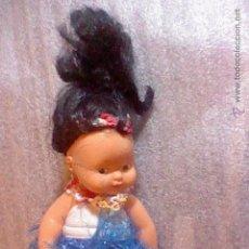 Muñecas Lesly y Barriguitas: MUÑECA BARRIGUITAS HAWAI O SIMILAR VESTIDO ANTIGUA NUCA 97. Lote 54106231