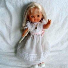 Muñecas Lesly y Barriguitas: MUÑECA DE FAMOSA HELEN COMUNIÓN FUNCIONANDO. Lote 55991961