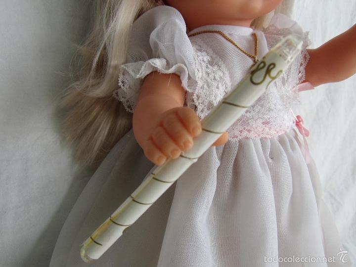 Muñecas Lesly y Barriguitas: Muñeca de Famosa Helen Comunión Funcionando - Foto 3 - 55991961