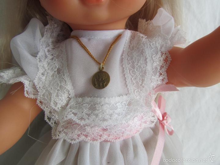 Muñecas Lesly y Barriguitas: Muñeca de Famosa Helen Comunión Funcionando - Foto 4 - 55991961