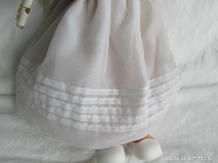 Muñecas Lesly y Barriguitas: Muñeca de Famosa Helen Comunión Funcionando - Foto 6 - 55991961