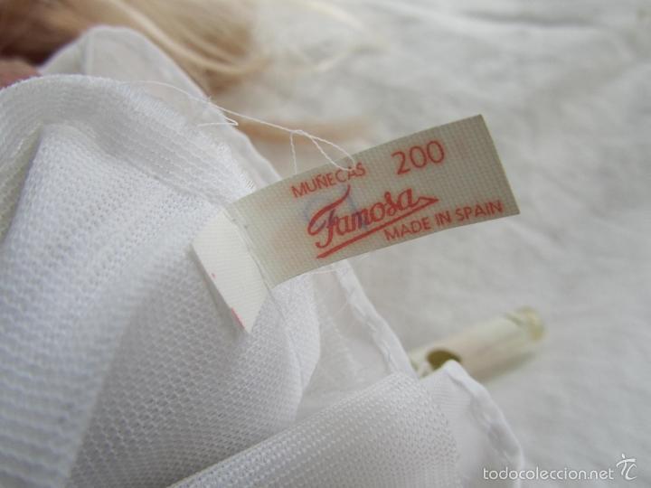 Muñecas Lesly y Barriguitas: Muñeca de Famosa Helen Comunión Funcionando - Foto 14 - 55991961