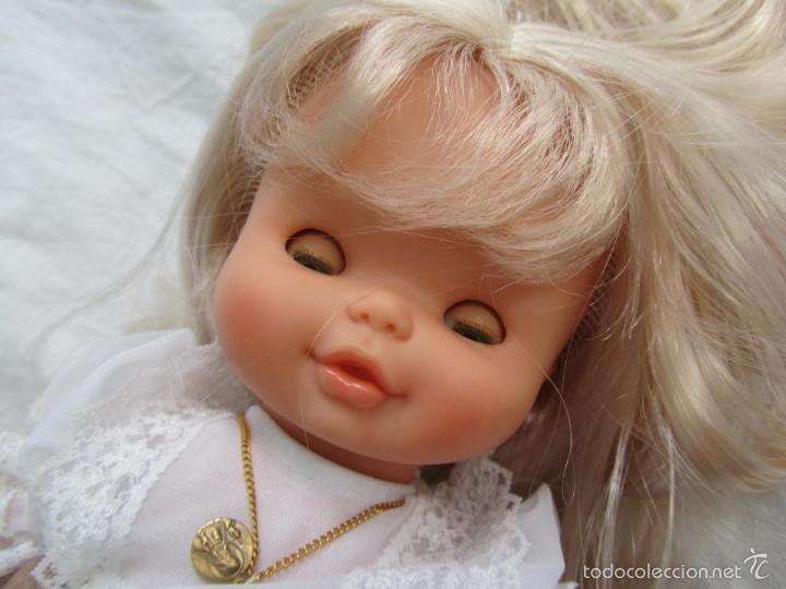 Muñecas Lesly y Barriguitas: Muñeca de Famosa Helen Comunión Funcionando - Foto 17 - 55991961