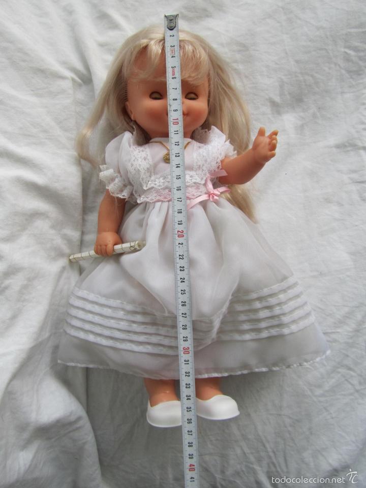 Muñecas Lesly y Barriguitas: Muñeca de Famosa Helen Comunión Funcionando - Foto 18 - 55991961