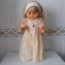 Muñecas Lesly y Barriguitas: MUÑECA DE FAMOSA CON DISCO.. Lote 56181208