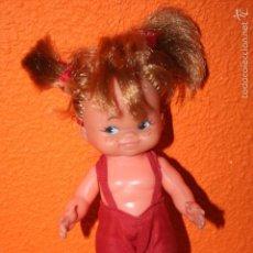 Muñecas Lesly y Barriguitas: MUÑECA DE OJOS PINTADOS PARECE DE FAMOSA . Lote 56222897